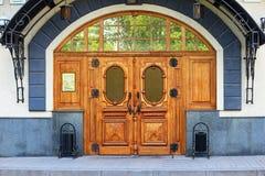 Wooden_door jpg Royalty-vrije Stock Afbeelding
