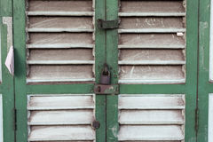 Wooden Door Stock Image