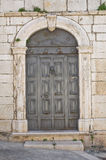 Wooden door. Minervino Murge. Puglia. Italy. Stock Photography