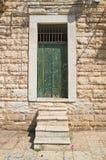 Wooden door. Molfetta. Puglia. Italy. Stock Images