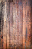 Wooden door with nails Stock Photography