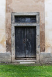 Wooden door. Old wooden door in a country house Stock Images
