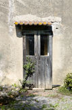 The wooden door Royalty Free Stock Photos