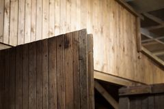 A wooden door Stock Photo
