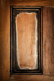 Wooden door panel background Royalty Free Stock Photo