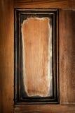 Wooden door panel background Royalty Free Stock Photo
