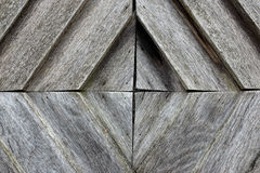 Wooden door pattern Stock Photos