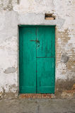 Wooden door. Pisticci. Basilicata. Italy. Stock Image