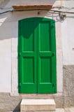Wooden door. Rodi Garganico. Puglia. Italy. Royalty Free Stock Image