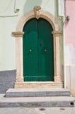 Wooden door. Rodi Garganico. Puglia. Italy. Royalty Free Stock Images