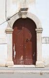 Wooden door. Rodi Garganico. Puglia. Italy. Royalty Free Stock Photo
