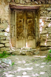 Wooden door. A rural wooden door Royalty Free Stock Photos