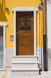 Wooden door. San Severo. Puglia. Italy. Royalty Free Stock Photography
