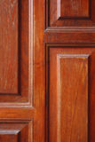 Wooden door surfaced Royalty Free Stock Photo