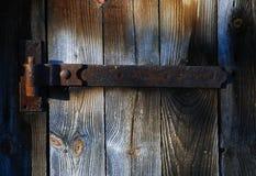 Wooden door texture Royalty Free Stock Photo
