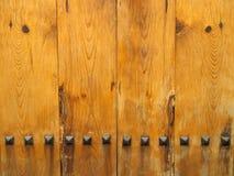 Wooden door texture Royalty Free Stock Images