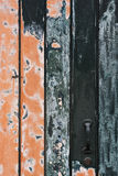 Wooden door. Royalty Free Stock Photography