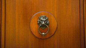 Free Wooden Door With Knocker Stock Photography - 30106152