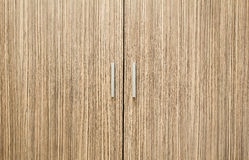 Wooden door. Wood door brown clothes.ggg Royalty Free Stock Photos