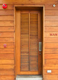 Wooden doors Stock Photography