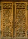 Wooden doors royalty free stock photo