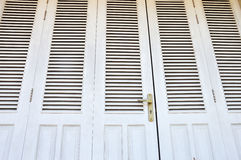 Wooden doors Royalty Free Stock Photos