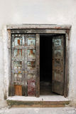 Wooden doors Royalty Free Stock Photography