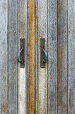 Wooden doors Stock Images
