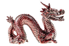 Wooden dragon Royalty Free Stock Photography