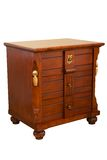 Wooden drawers Royalty Free Stock Photo