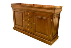 Wooden dresser classic Stock Photo