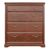 Wooden dresser classic, front view Royalty Free Stock Photography