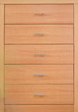 Wooden dresser Royalty Free Stock Image
