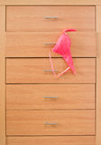 Wooden dresser Stock Images