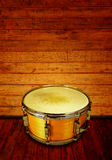 Wooden drum Stock Photography