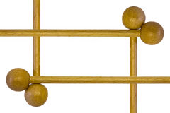 Wooden drumsticks Stock Image