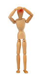 Wooden dummy Stock Images