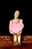 Wooden dummy   Stock Image