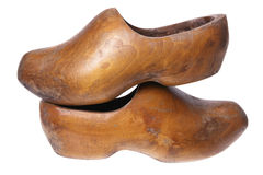 Wooden Dutch Clogs Royalty Free Stock Image