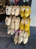 Wooden Dutch Clogs Stock Photos