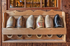 Wooden dutch clogs. Stock Images