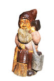 Wooden dwarf Royalty Free Stock Image