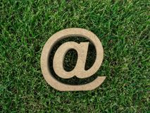 Email address icon royalty free stock photography
