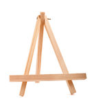 Wooden easel Royalty Free Stock Photos