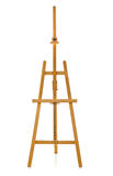 Wooden easel Royalty Free Stock Image