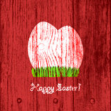 Wooden Easter Background Royalty Free Stock Photography