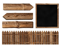 Wooden elements Royalty Free Stock Photography