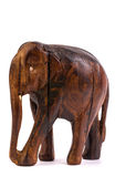 Wooden elephant figurine Stock Photography