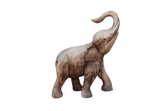 Wooden elephant Royalty Free Stock Image