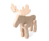 Wooden elk Stock Images